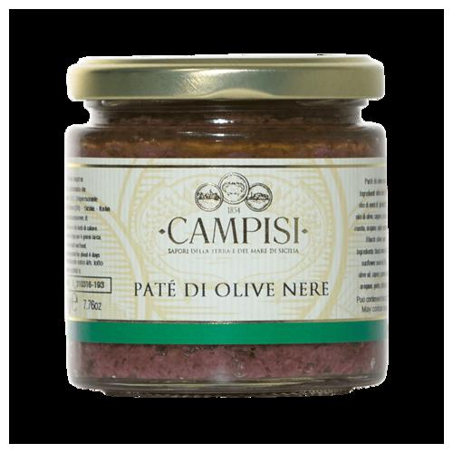 Patè di Olive Nere 220 g -...