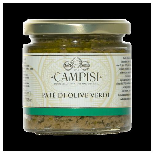 Patè di Olive Verdi 220 g -...