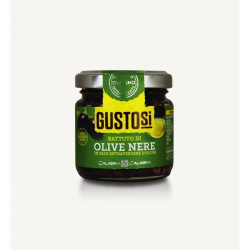Battuto di Olive Nere 80 g...