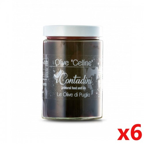 """Olive """"Celline"""" 6 x 550 g -..."""