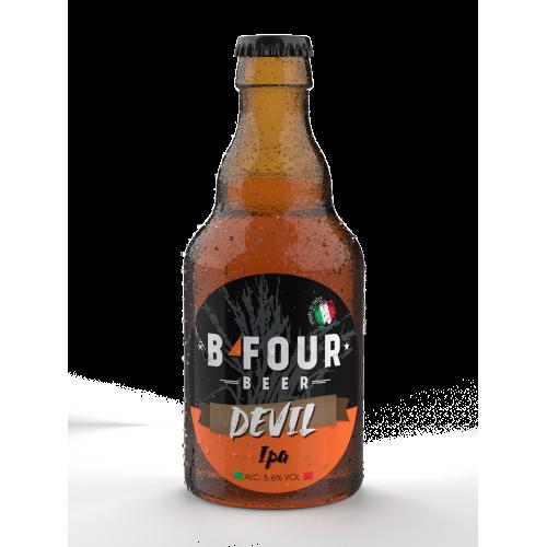 Birra Devil Ipa 33 cl - B-Four